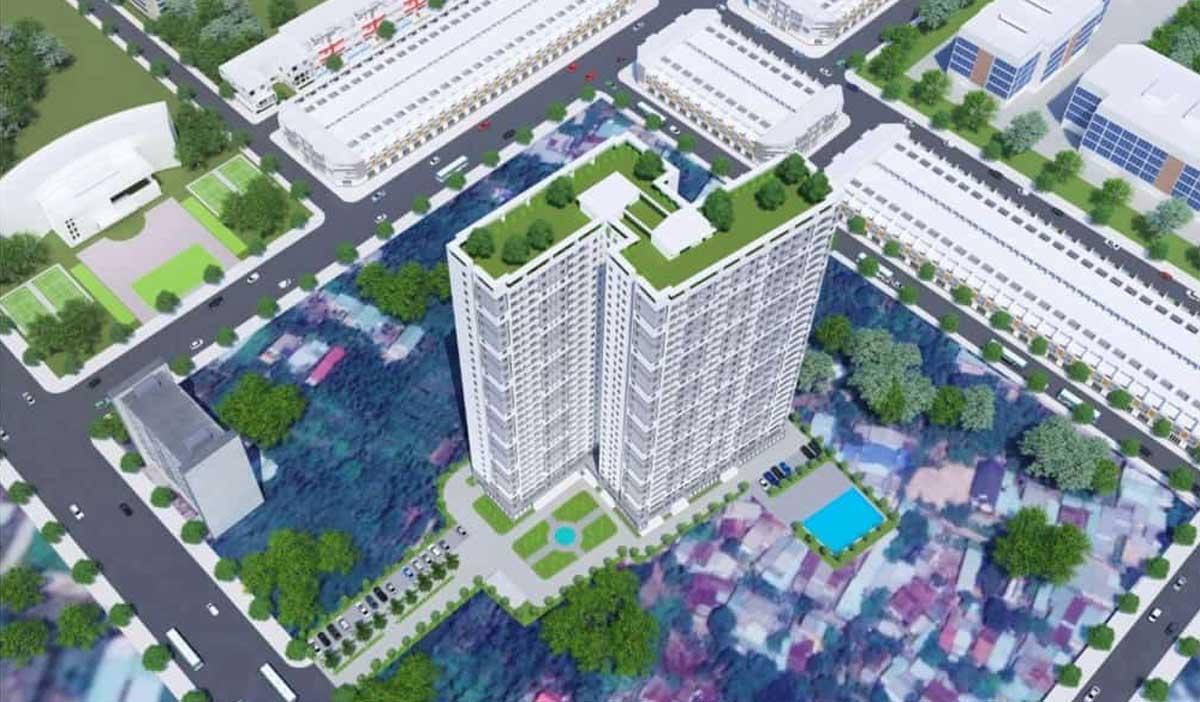 Phối cảnh Dự án Căn hộ Chung cư Tecco Luxury Thuận An Bình Dương