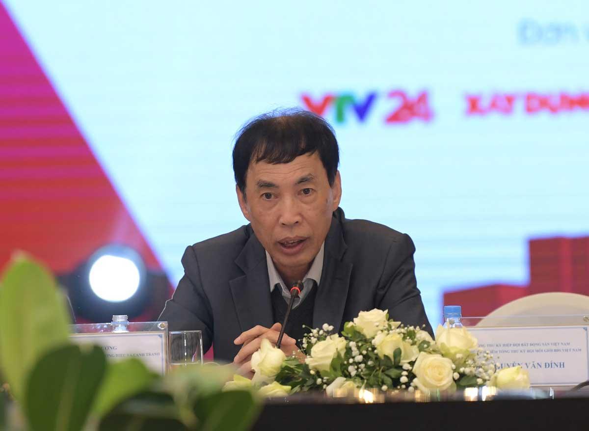 TS. Vo Tri Thanh Vien truong Vien nghien cuu chien luoc thuong hieu va canh tranh. - Cập nhật Thông tin Thị trường Bất động sản Năm 2021