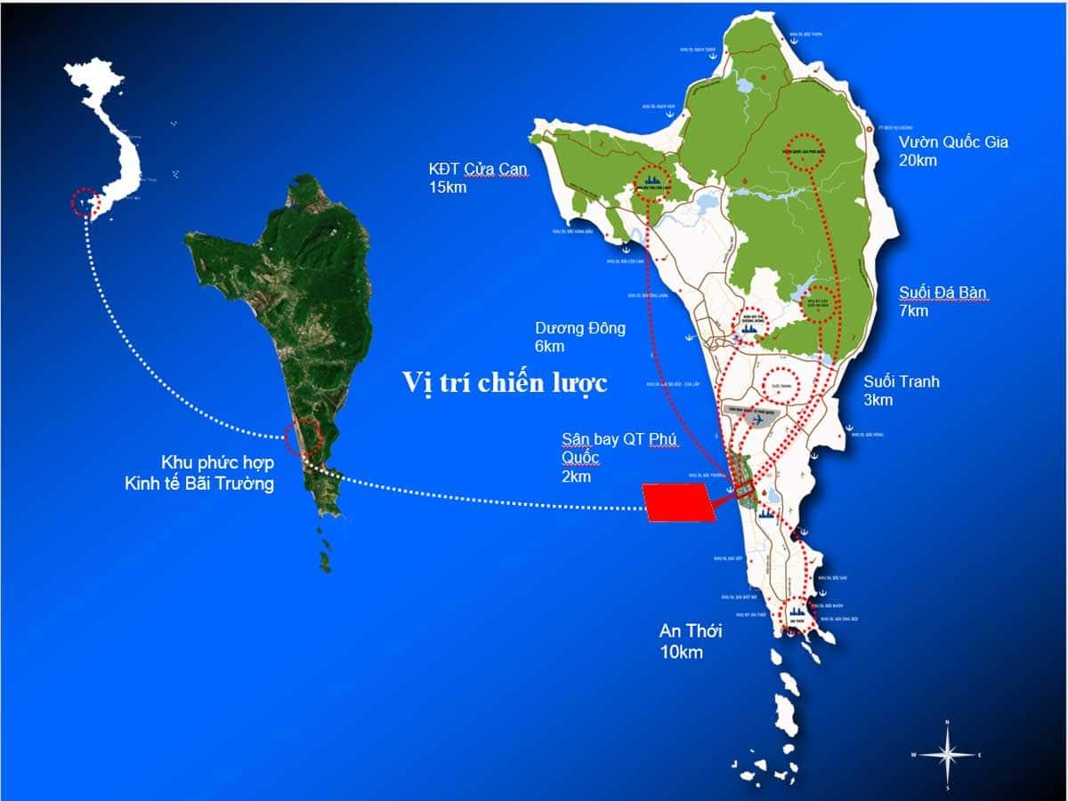 Vi tri Du an Selavia Bay Phu Quoc - Vị-trí-Dự-án-Selavia-Bay-Phú-Quốc