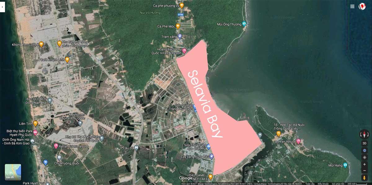 Vi tri Du an Selavia Bay - Vị-trí-Dự-án-Selavia-Bay
