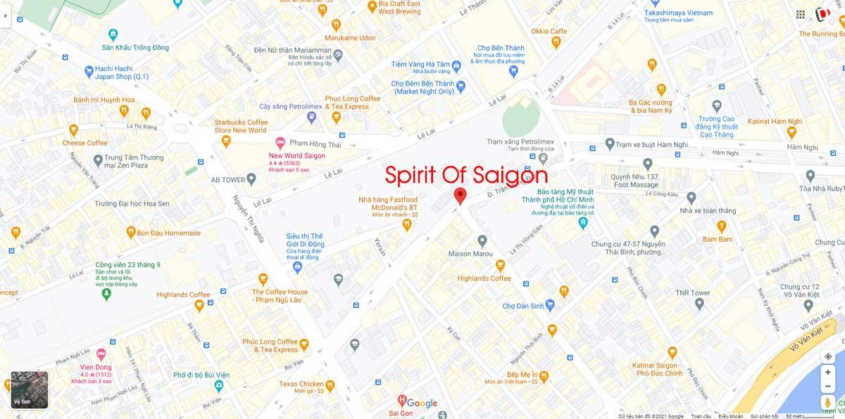 Vi tri Du an Spirit Of Saigon Quan 1 - Spirit Of Saigon