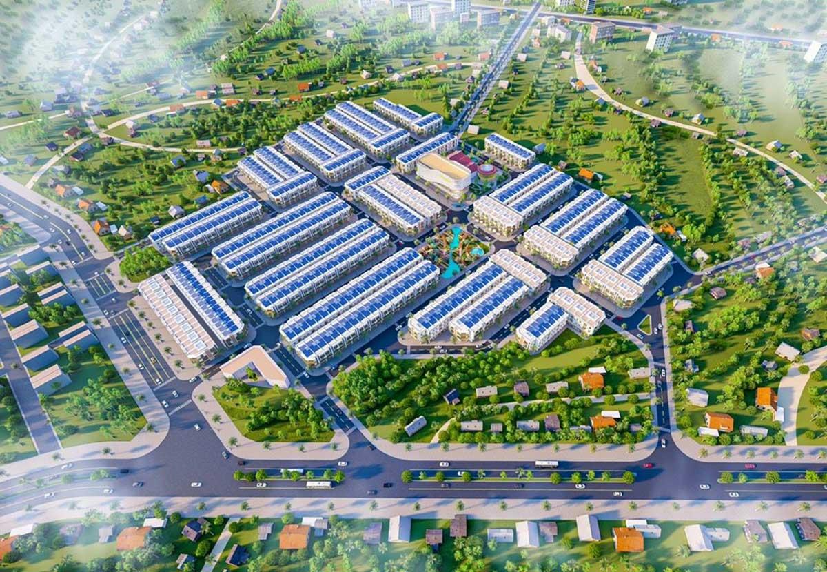 Tổng thể Dự án Long Hội Central Point Nhơn Trạch Đồng Nai