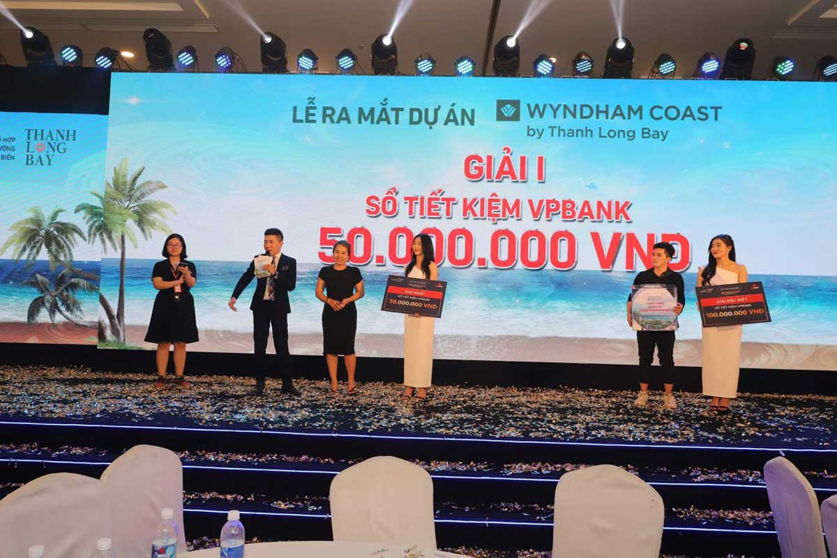 khach hang Wyndham Coast By Thanh Long Bay trung giai nhat - Wyndham Coast By Thanh Long Bay