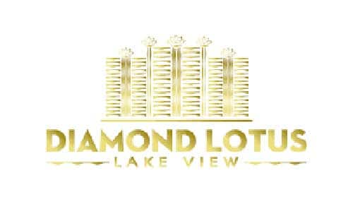 logo diamond lotus lake view - Diamond Lotus Lake View