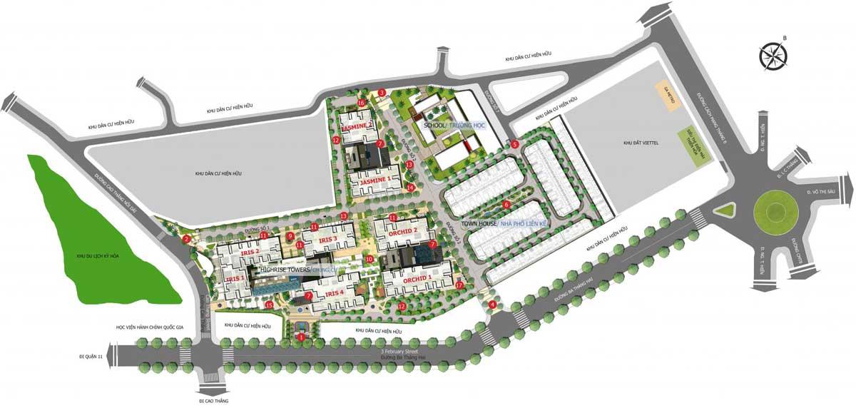 mat bang tong the du an hado centrosa garden 2048x976 1 - Hà Đô Centrosa Garden
