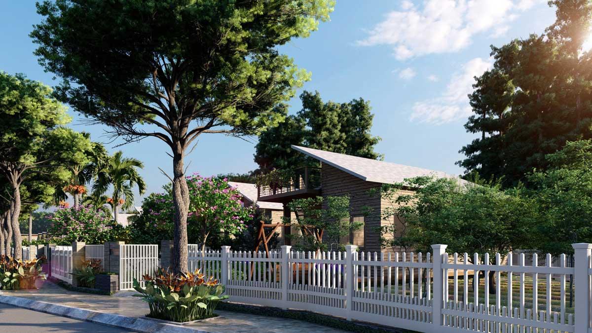 Biet thu The Tropicana Garden Bao loc - Biệt-thự-The-Tropicana-Garden-Bảo-lộc
