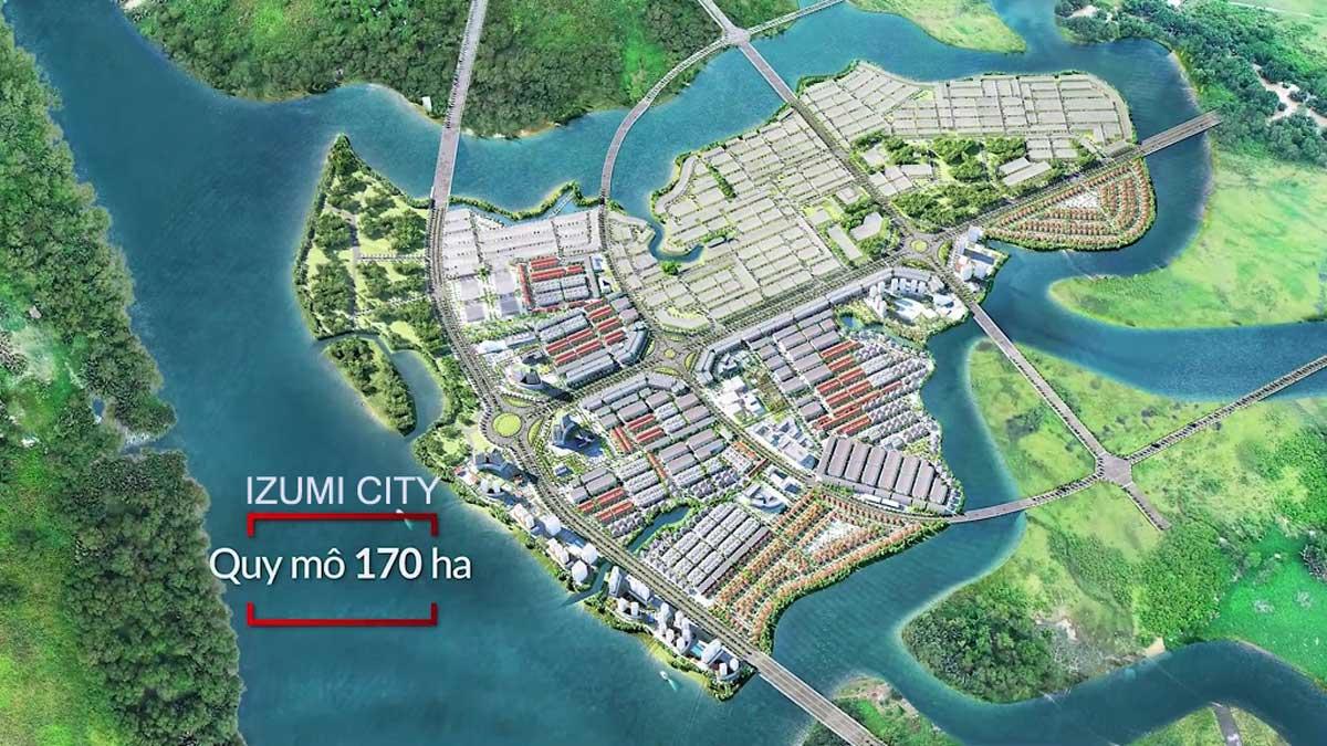 Dự án Izumi City Biên Hòa Đồng Nai