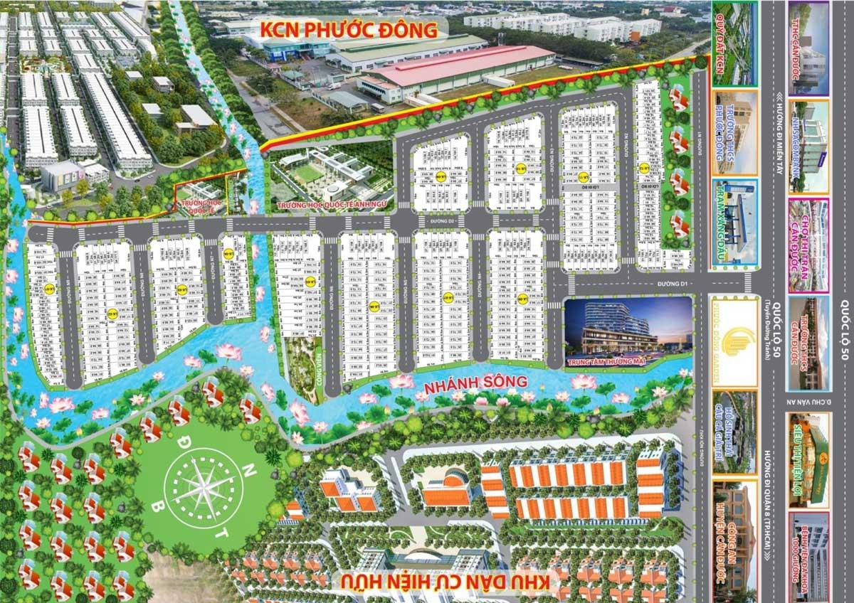 Dự án Khu dân cư Phước Đông