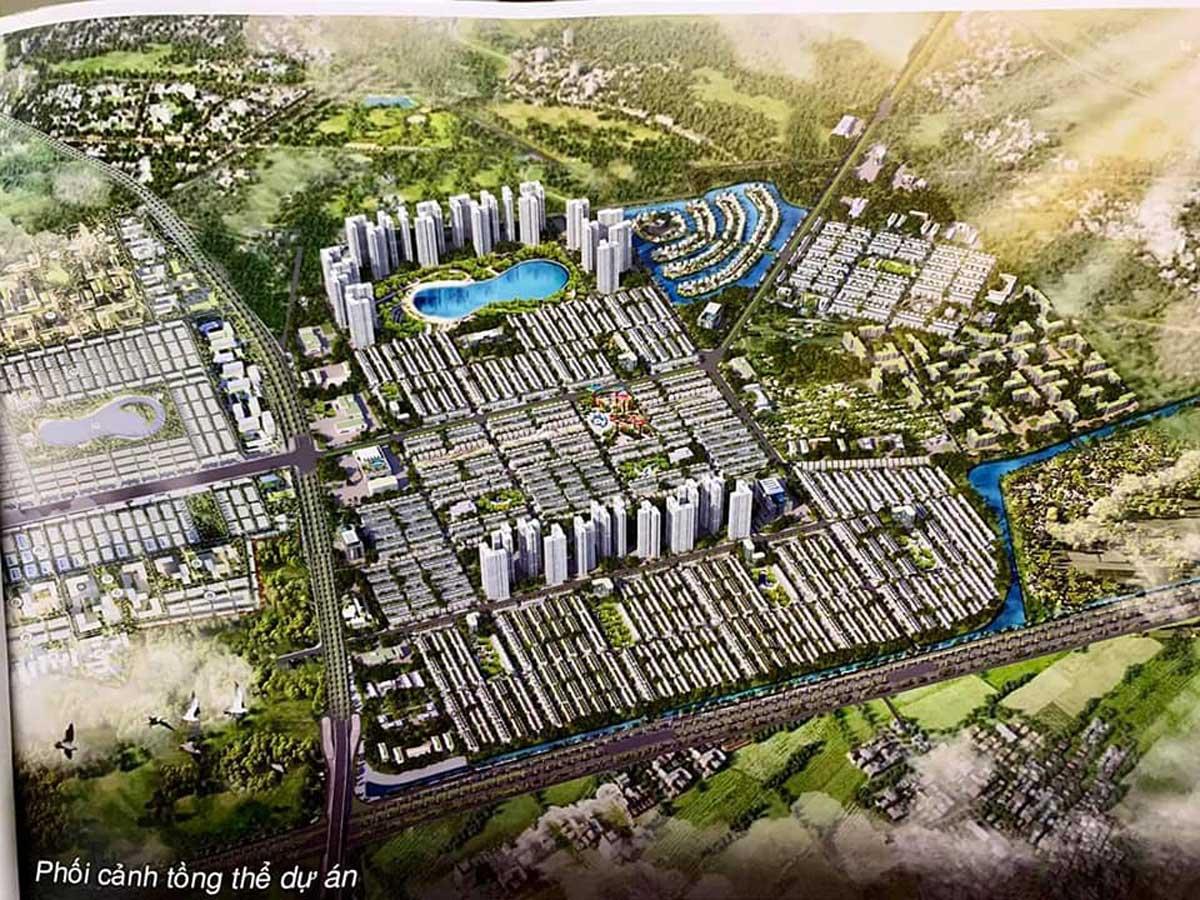 Dự án Khu đô thị Vinhomes Dream City
