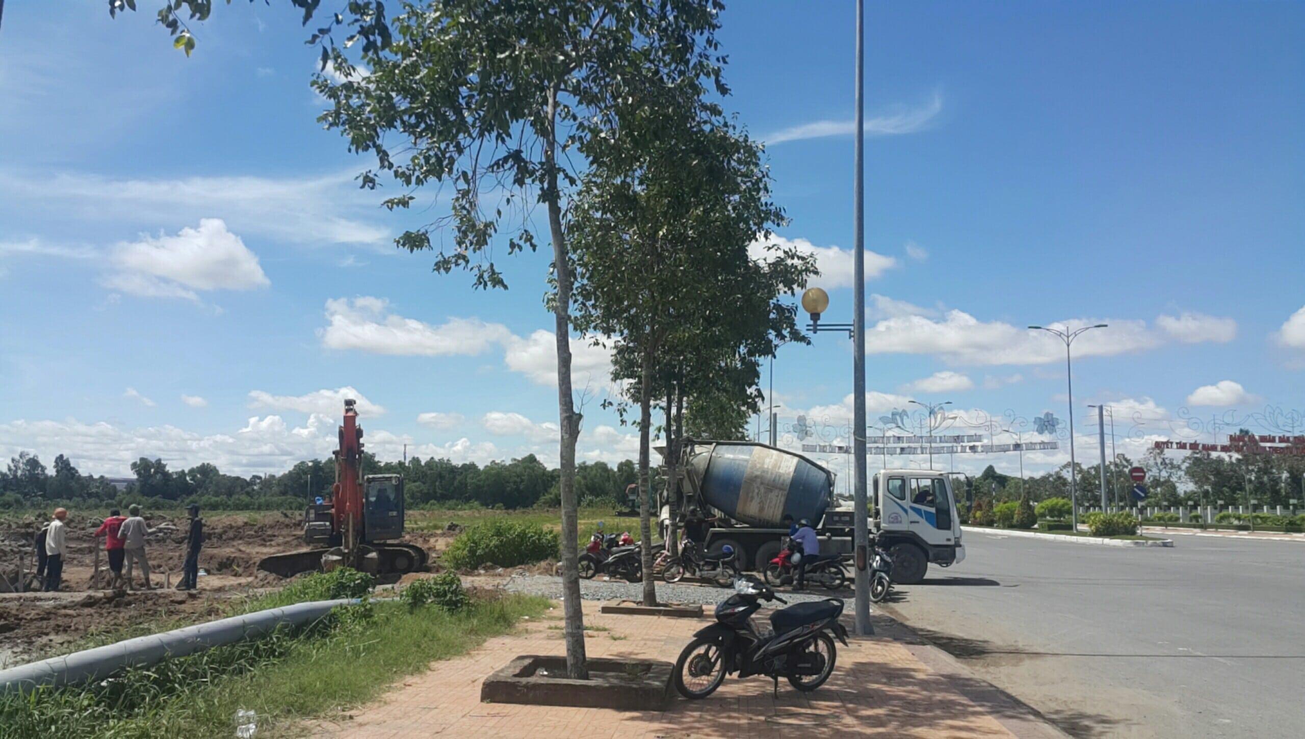 Hinh anh tien do thi cong DIC Victory City Hau Giang - DIC VICTORY CITY