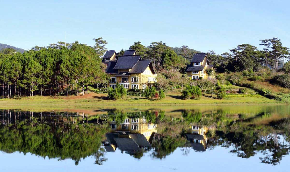 Khu Biet thu charm resort da lat - CHARM RESORT ĐÀ LẠT