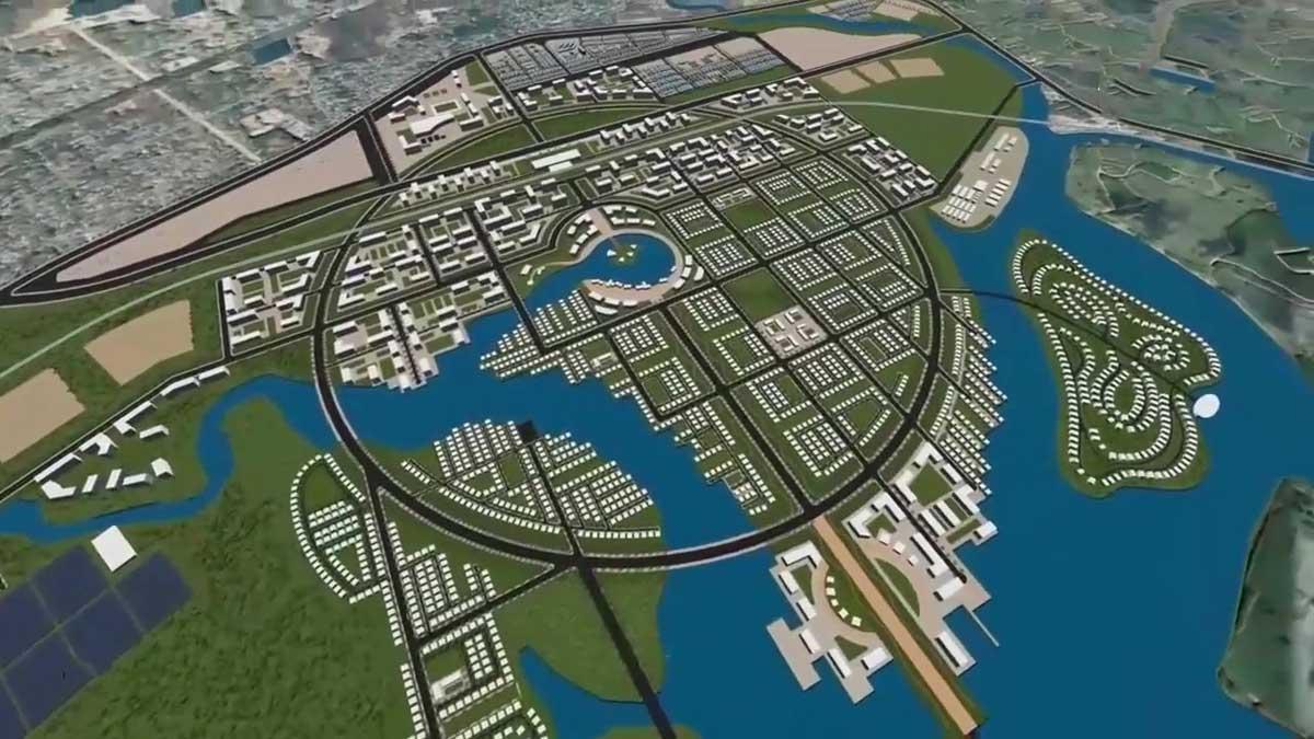 Khu do thi Tay Nam Ba Ria Vung Tau - Dự án Khu đô thị Tây Nam Bà Rịa Vũng Tàu
