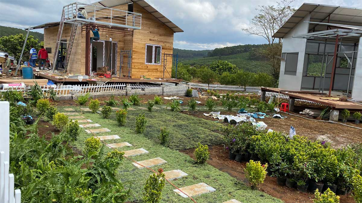 Khu nha mau Lang sinh thai Tropicana Garden - THE TROPICANA GARDEN