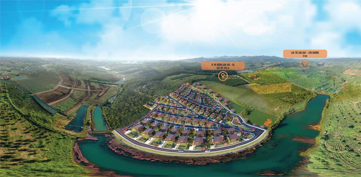 Lang Sinh Thai Kingdom Ecolake Village Bao Loc - KINGDOM ECOLAKE VILLAGE