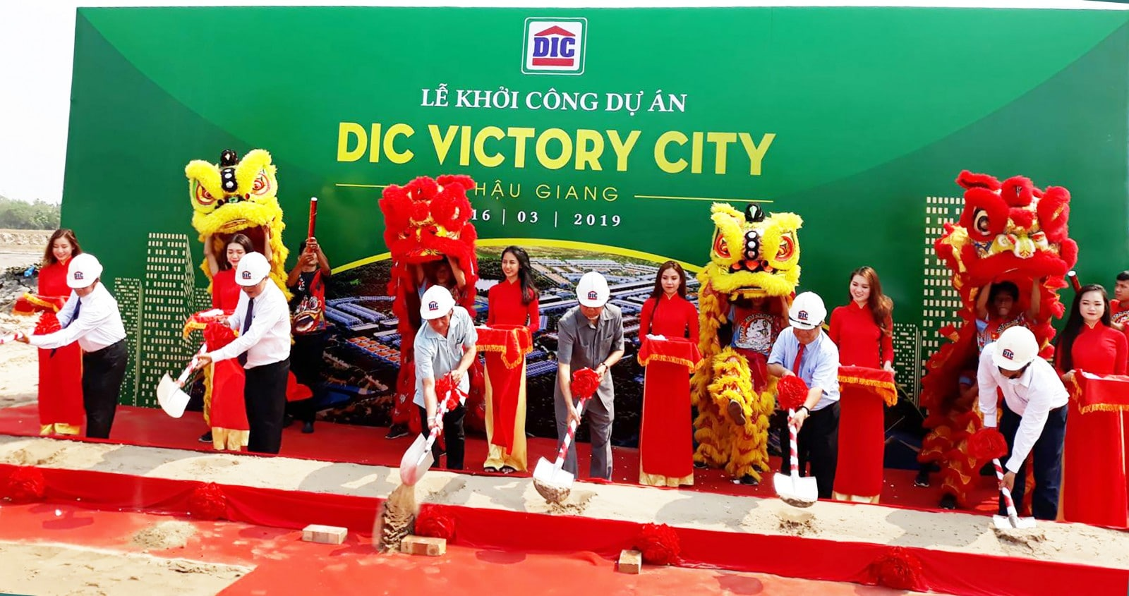 Le dong tho DIC Victory City - DIC VICTORY CITY