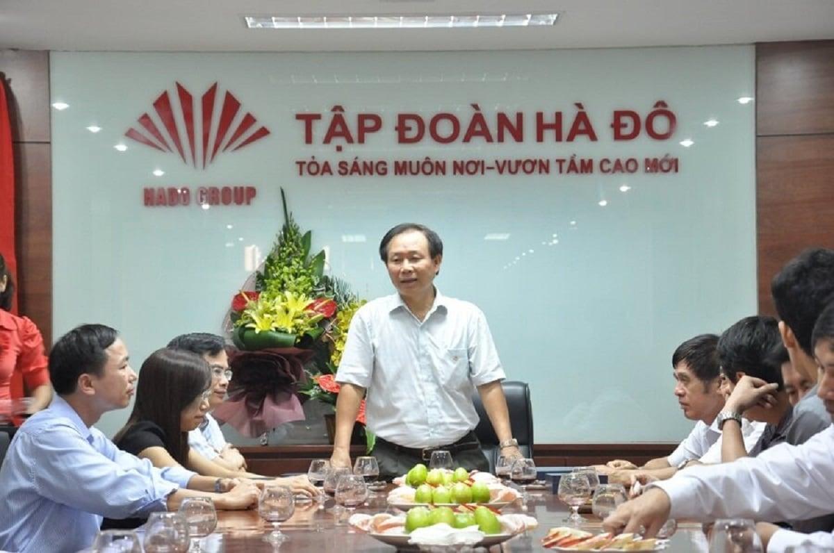 Nguyen Trong Thong Chu tich HDQT CTCP Tap doan Ha Do - Top 10 Đại gia Bất động sản giàu nhất Việt Nam đầu năm 2021