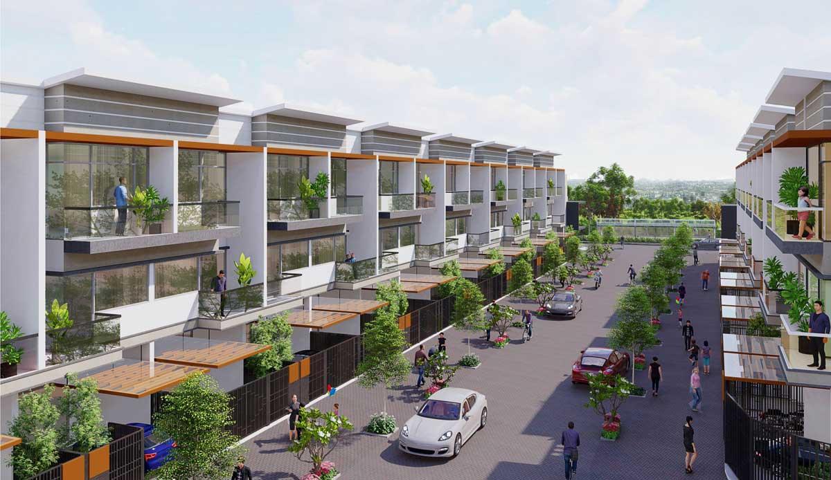 Nha pho thuong mai Khu dan cu Thuong mai Tan Thai Thinh - Dự án Khu dân cư Thương mại Tân Thái Thịnh