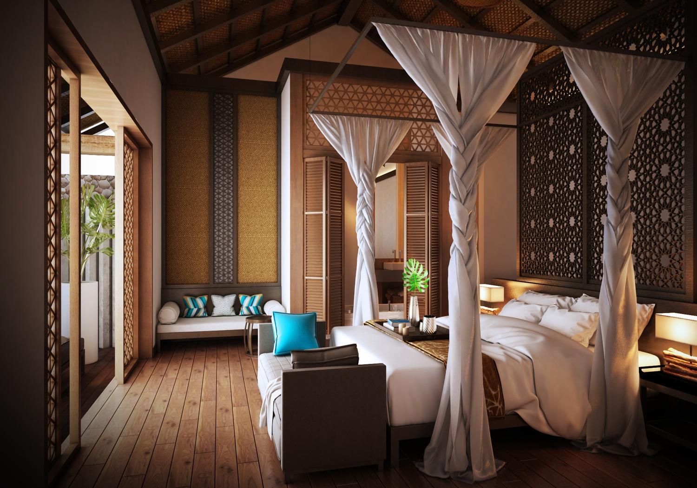 Phong ngu master Charm Resort Quy Nhon - CHARM RESORT QUY NHƠN