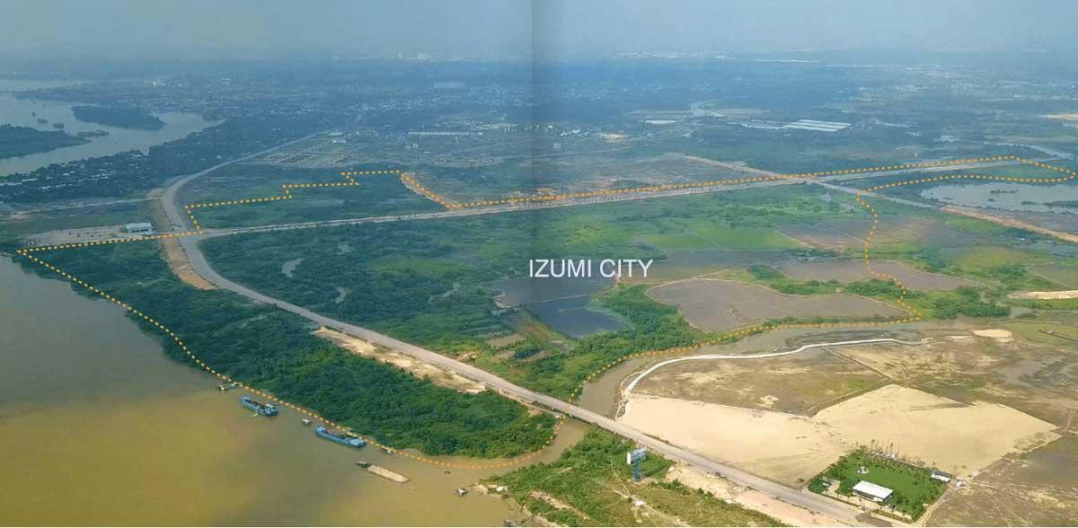 Tien do thi cong Du an Izumi City Nam Long - Izumi City