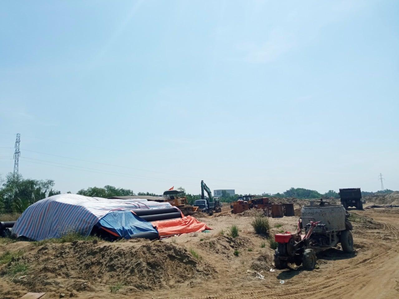 Tien do thi cong Du an KDC Thuong mai Tan Thai Thinh - Dự án Khu dân cư Thương mại Tân Thái Thịnh
