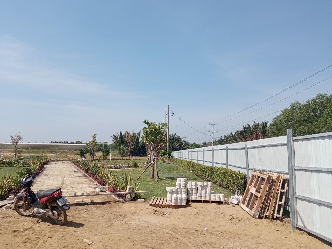 Tien do thi cong Du an Khu dan cu Tan Thai Thinh - Dự án Khu dân cư Thương mại Tân Thái Thịnh