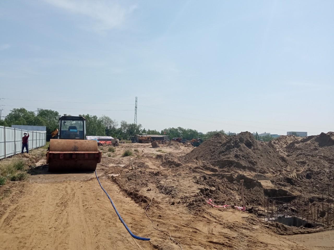 Tien do thi cong KDC Thuong mai Tan Thai Thinh - Dự án Khu dân cư Thương mại Tân Thái Thịnh