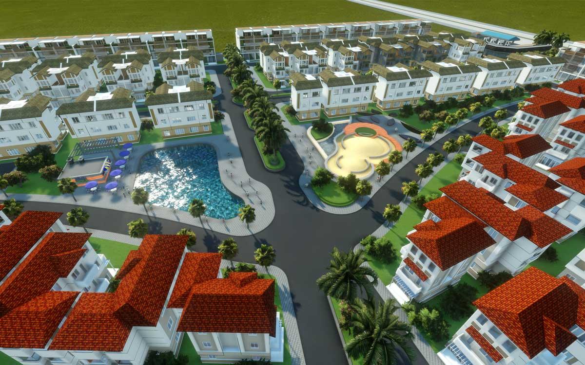 Tien ich Du an Khu dan cu Thuong mai Tan Thai Thinh - Dự án Khu dân cư Thương mại Tân Thái Thịnh