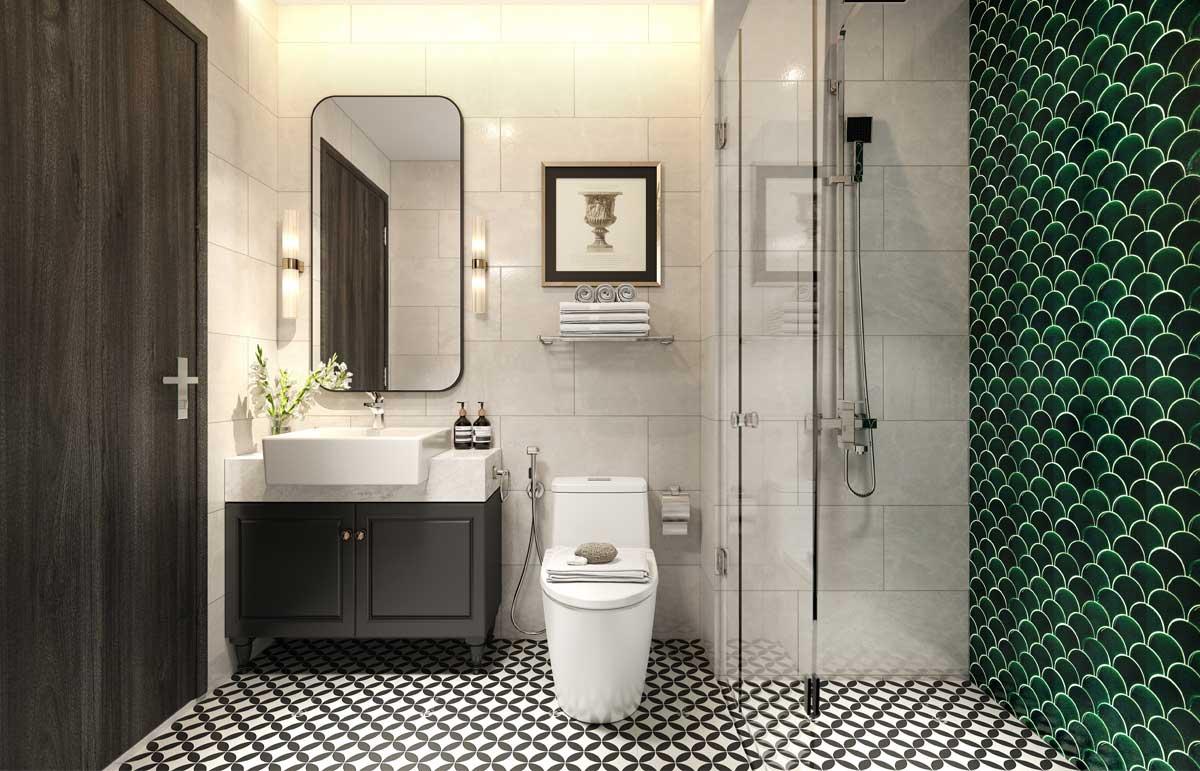 Toilet nha mau picity thu duc - Picity Thủ Đức
