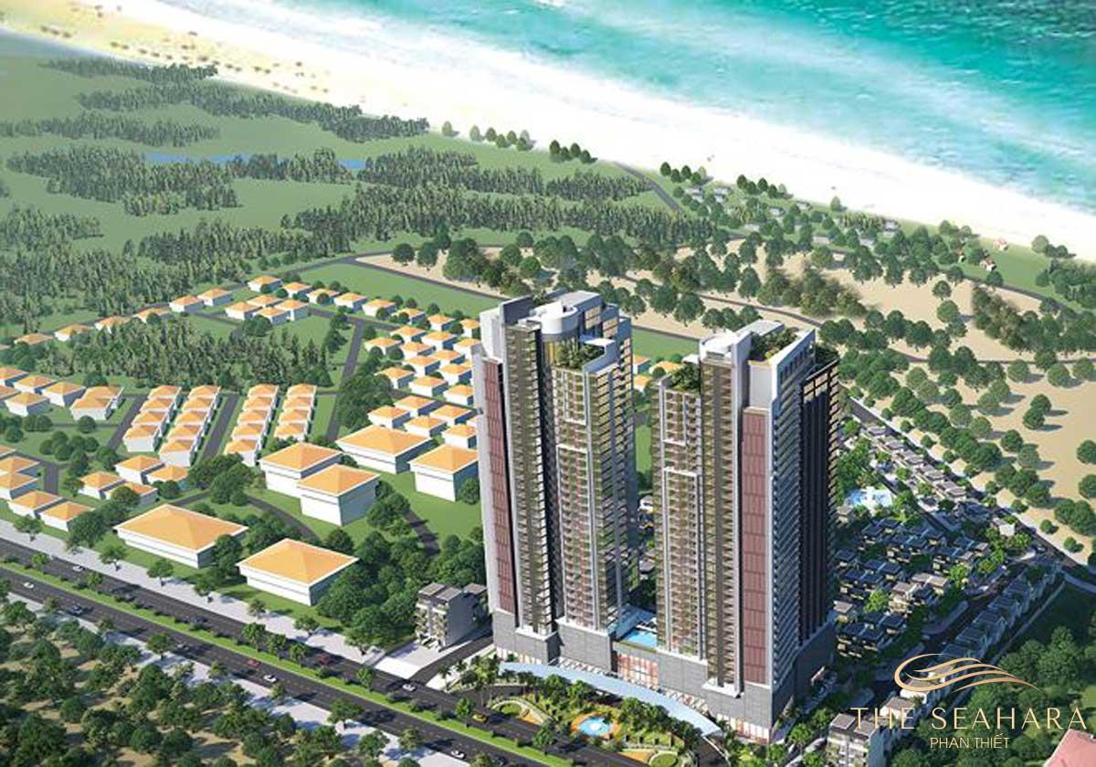 Phối cảnh Dự án The Seahara Phan Thiết
