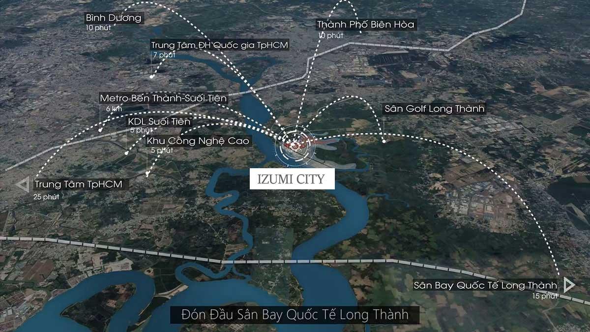 tien ich lien ket vung du an izumi city - Izumi City