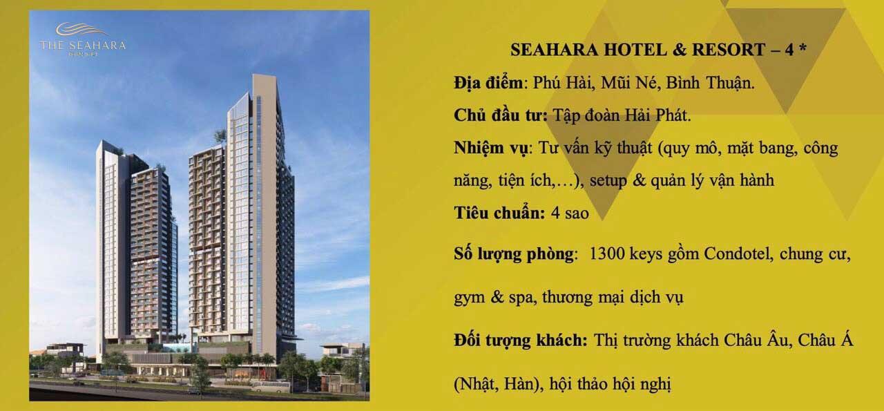 tong quan du an the seahara phan thiet - THE SEAHARA HOTEL & RESORT PHAN THIẾT