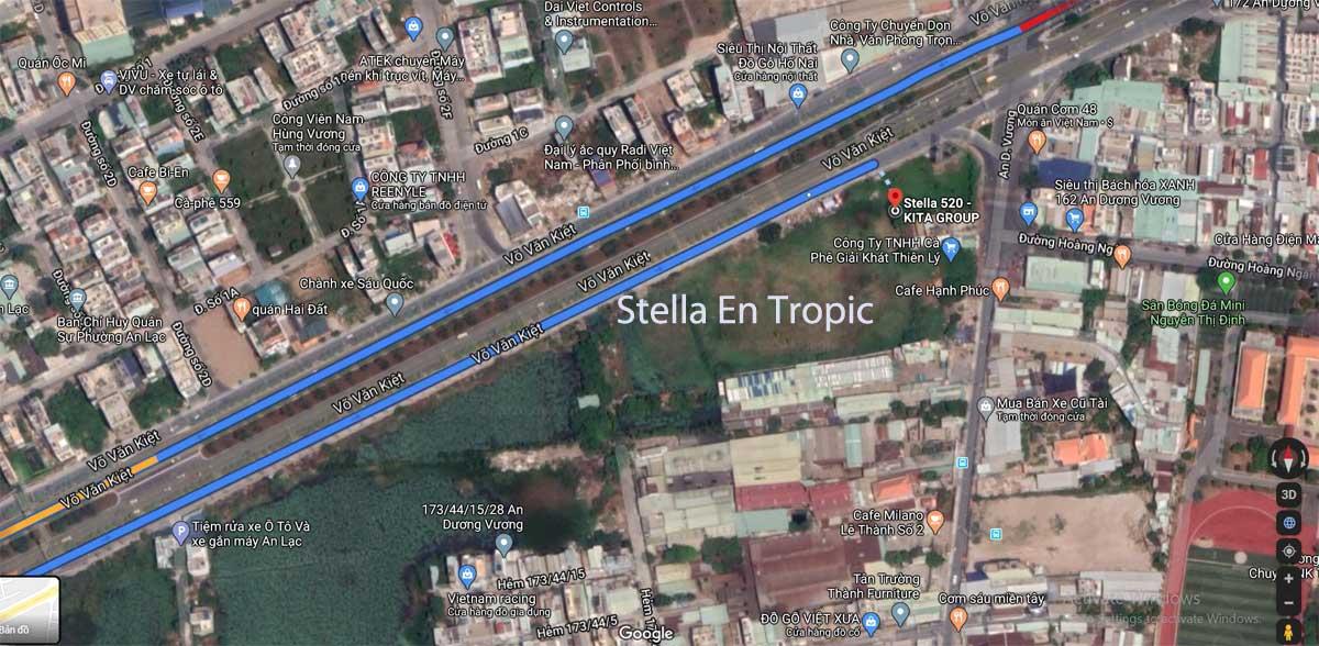 vi tri du an Stella En Tropic - Stella En Tropic