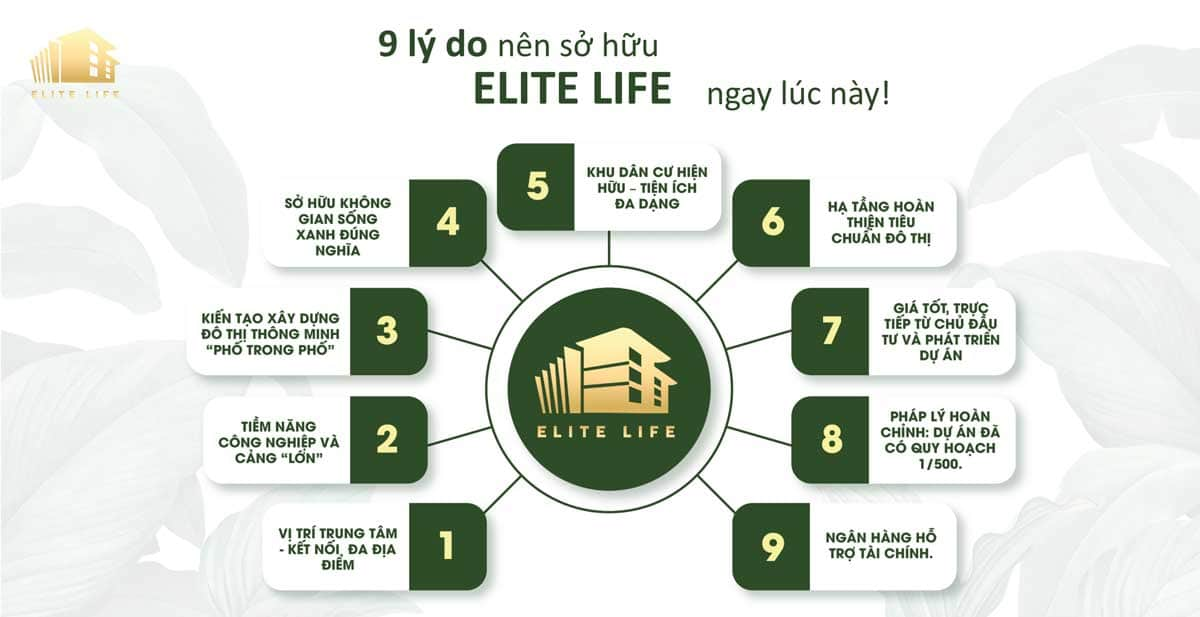 9 ly do ban nen mua nha pho elite life long hau long an - Elite Life Long Hậu Long An