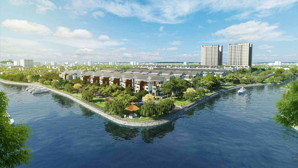 Biet thu ven song River Pearl City - RIVER PEARL CITY