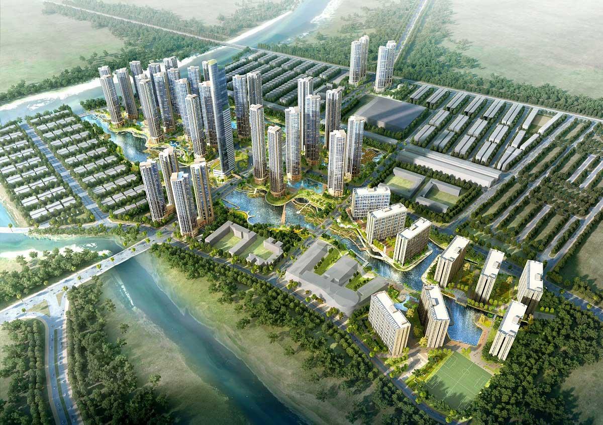 Du an Khu do thi Sai Gon Binh An - Khu đô thị Sài Gòn Bình An