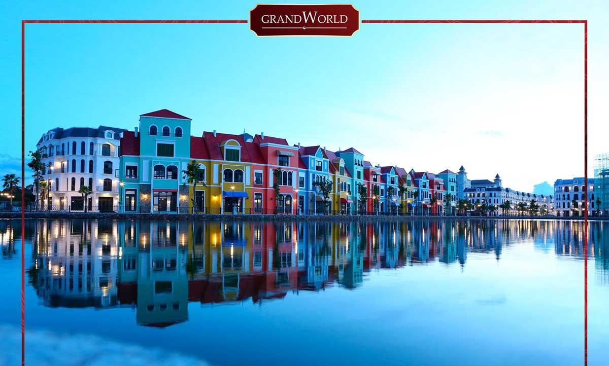 Hinh anh tien do thi cong thuc te Du an Grand World Phu Quoc 2021 - GRAND WORLD PHÚ QUỐC