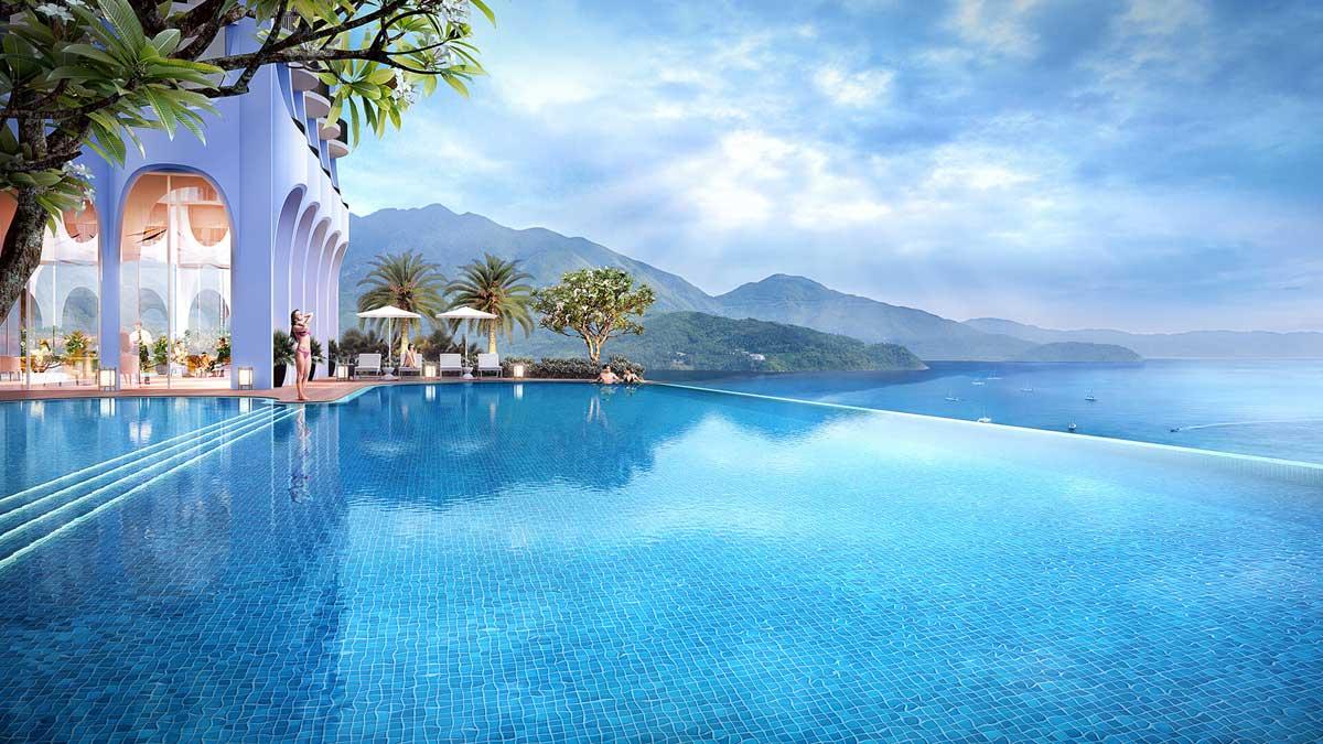 Ho boi Asiana Luxury Residences Da Nang 1 - Hồ-bơi-Asiana-Luxury-Residences-Đà-Nẵng