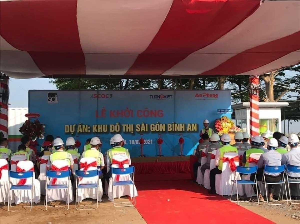 Le khoi cong Du an Khu do thi Sai Gon Binh An 2021 - Khu đô thị Sài Gòn Bình An