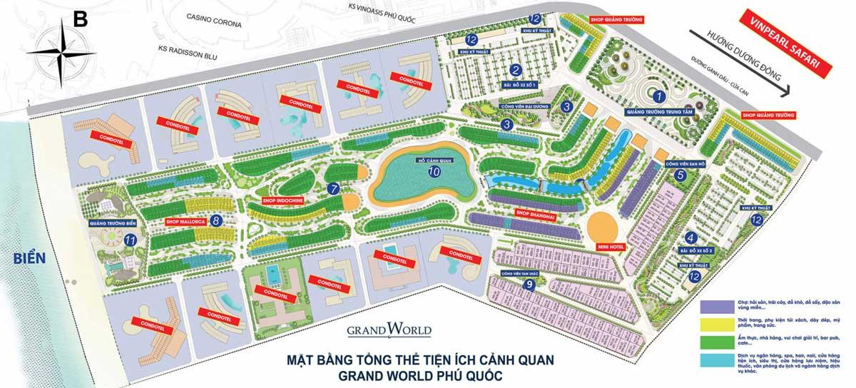 Mat bang Grand World Phu Quoc - GRAND WORLD PHÚ QUỐC