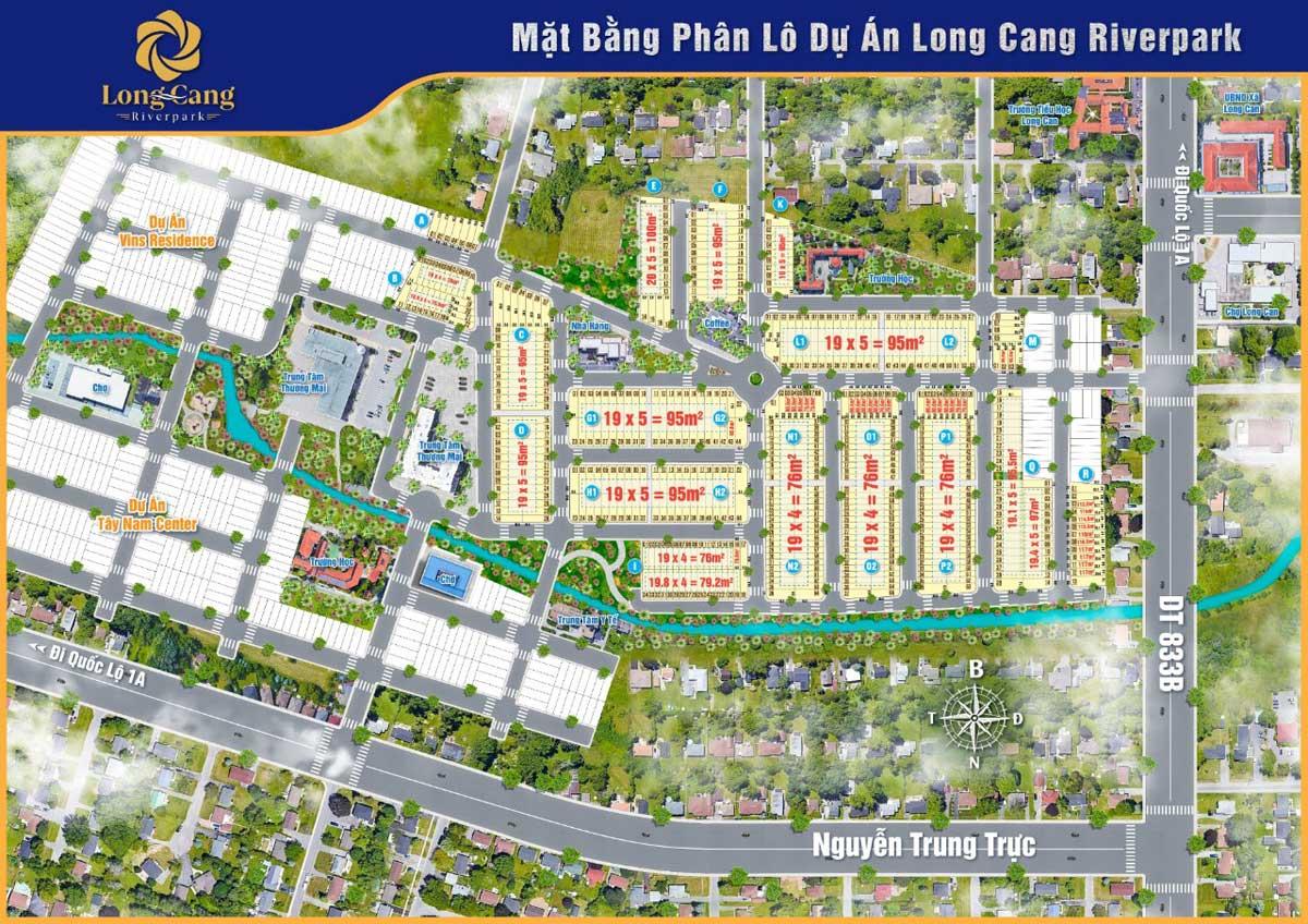 Mat bang Phan lo Du an Long Cang RiverPark - Long Cang RiverPark