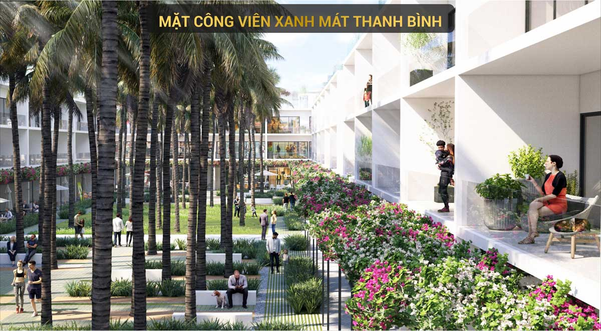 Nha pho the song by thanh long bay mat cong vien xanh mat - The Song By Thanh Long Bay