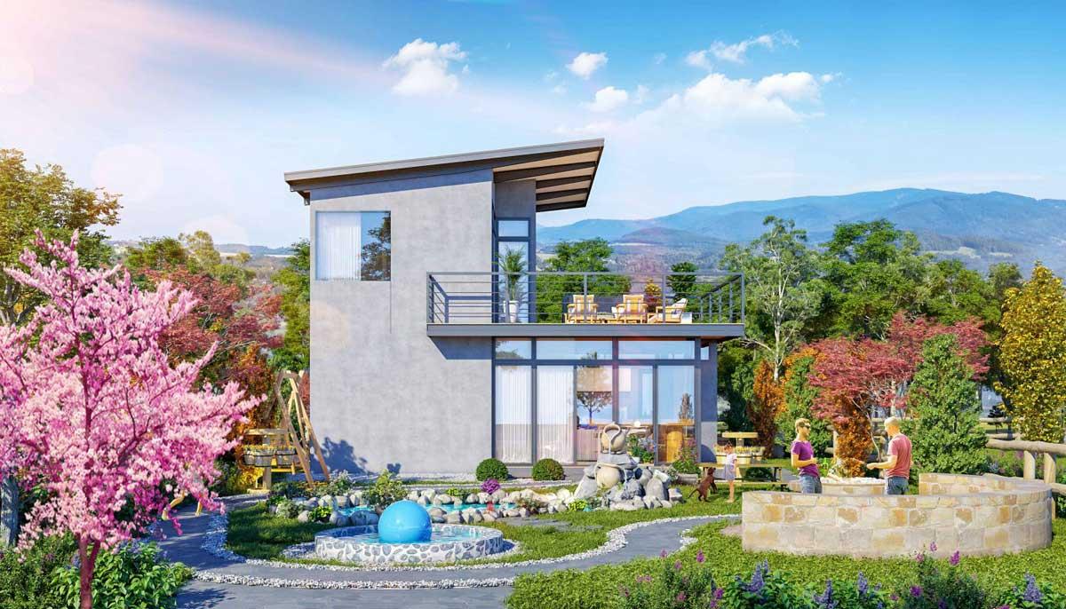 Phoi canh Biet thu Sakura Garden Bao Loc - Phoi-canh-Biet-thu-Sakura-Garden-Bao-Loc
