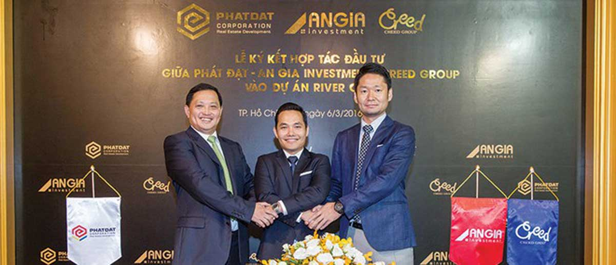 River City du an doanh bat thanh giua Creed Group Phat Dat va An Gia - CREED GROUP