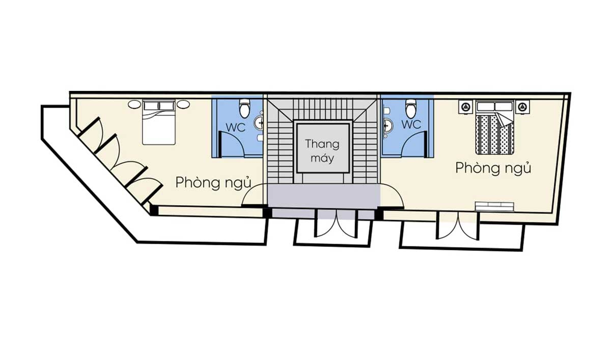 Thiet ke Tang 2 nha pho thuong mai One Palace 2 Quan 12 - Thiet-ke-Tang-2-nha-pho-thuong-mai-One-Palace-2-Quan-12