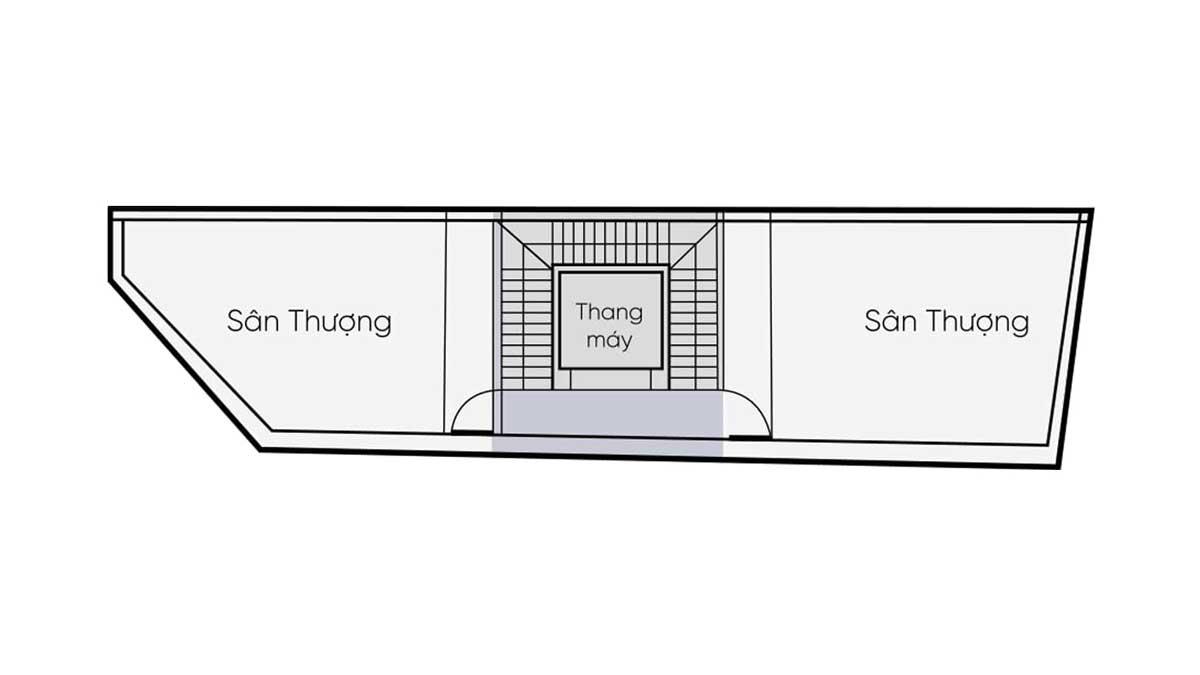 Thiet ke Tang thuong nha pho thuong mai One Palace 2 Quan 12 - One Palace 2
