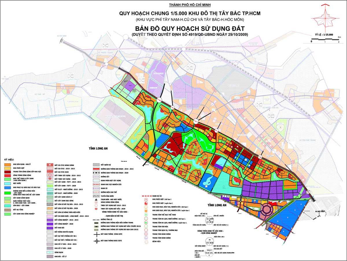 Thông tin Quy hoạch Khu đô thị Tây Bắc