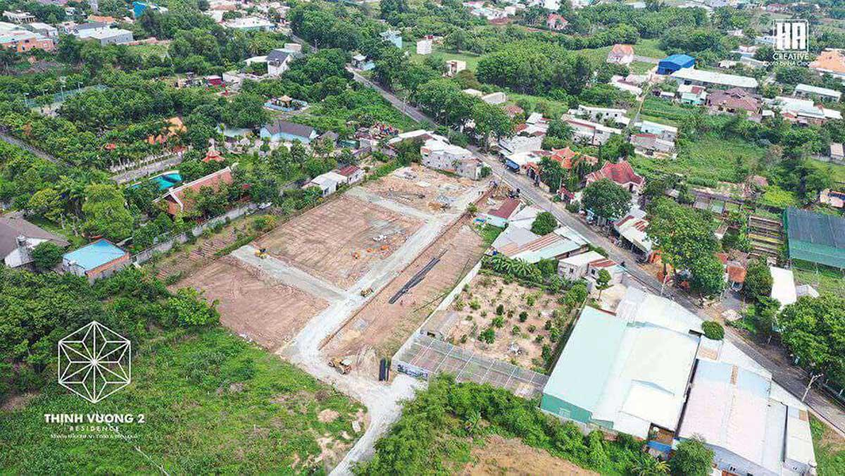 Tien do thi cong Du an Khu dan cu Thinh Vuong 2 Residence - Khu dân cư Thịnh Vượng 2 Residence Củ Chi