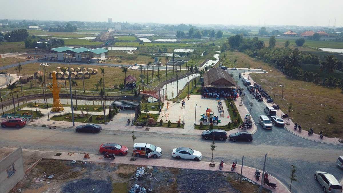 Tien do thi cong Du an Long Cang RiverPark 2021 - Long Cang RiverPark