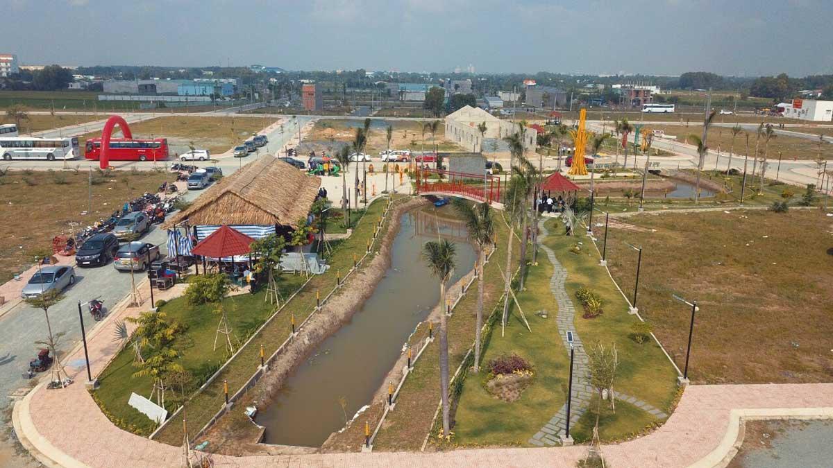 Tien do thi cong Du an Long Cang RiverPark - Long Cang RiverPark