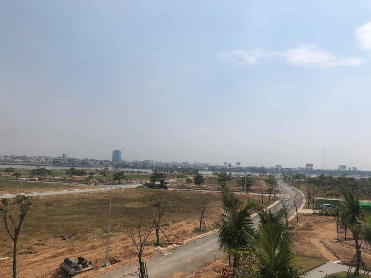 Tien do thi cong Du an River Pearl City Tan Van Dong Nai - RIVER PEARL CITY